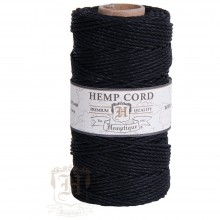Hemp Cord Spool 48lb 205' - Black