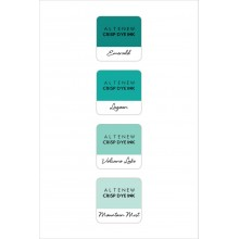 InkPads Sea Shore Mini Cube Pack of 4 Set