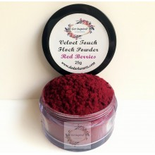 Red Berries Velvet Touch Flock Powder By Get Inspired- 25ml Jar
