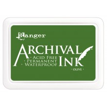 Olive Archival Ink Pad