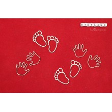 Babyland - Baby Hand & Feet prints By Scrapiniec