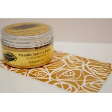 24 Carat Gold Silk Metallic Texture Paste - 120ml Pack By Get Inspired