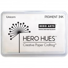 Hero Arts Pigment Ink Pad White Unicorn