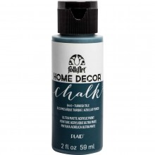 FolkArt Home Decor Chalk Acrylic Paint, 2oz Turkish Tile