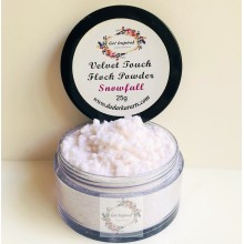 Snow Fall Velvet Touch Flock Powder By Get Inspired- 25ml Jar