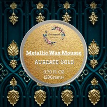 Aureate Gold Metallic Wax 20grams Tin By Get Inspired