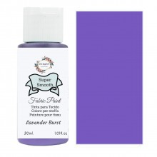 Super Smooth Fabric Paint- Lavender Burst 30ml