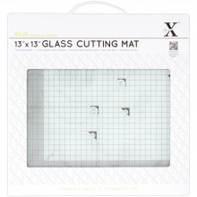 "Xcut Tempered Glass Cutting Mat 13""x13"""