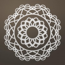 "Dies Tessa Doily 3.5"" Ultimate Crafts Ooh La La"