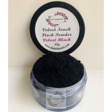 Velvet Black Velvet Touch Flock Powder By Get Inspired- 25ml Jar