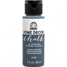 FolkArt Home Decor Chalk Acrylic Paint, 2oz Nantucket Blue
