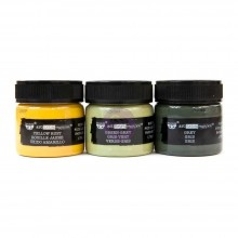 Military Rust Finnabair Art Extravagance Rust Effect Paste 50ml Jars 3/Pkg