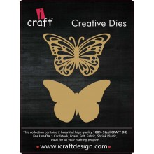 Icraft Butterfly Creative Dies Set Of Two M15