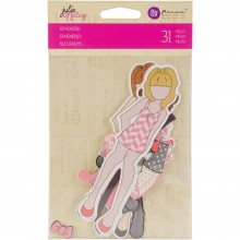 Julie Nutting Ephemera Cardstock Die-Cuts 31/Pkg Dolls & Accessories