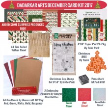 Jingle All The Way December Card Kit 2017