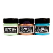Patina Effect Paste Finnabair Art Extravagance Set 3 Colors, 1.7 Fl Oz Each