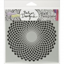 "Stencil Crafter's Workshop Template 6""X6"" - SOLACE"