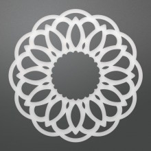 "Dies Raina Doily 2.5"" By Couture Creations"