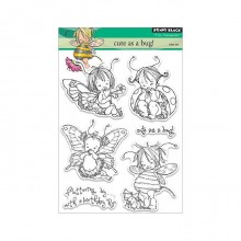Penny Black Clear Stamps Cute As A Bug!