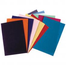 "Felt Sheets 9""X12"" 12/Pkg - Assorted Colors"