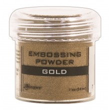 Gold Ranger Embossing Powder