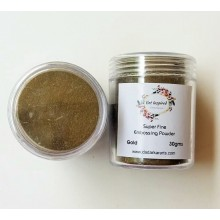 Gold with Magic Shine Super Fine Embossing Powder 20gms