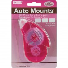 Square Roller 350/Pkg Auto Mounts Permanent Mounting